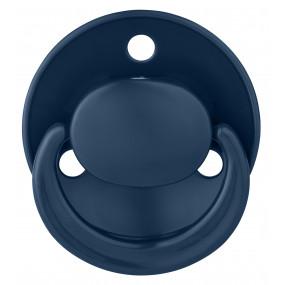 Dudlík kulatý silikon univerzální velikost 0-24měsíců  23501