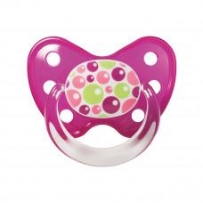 Dudlík Dentistar silikonový s kroužkem vel.2