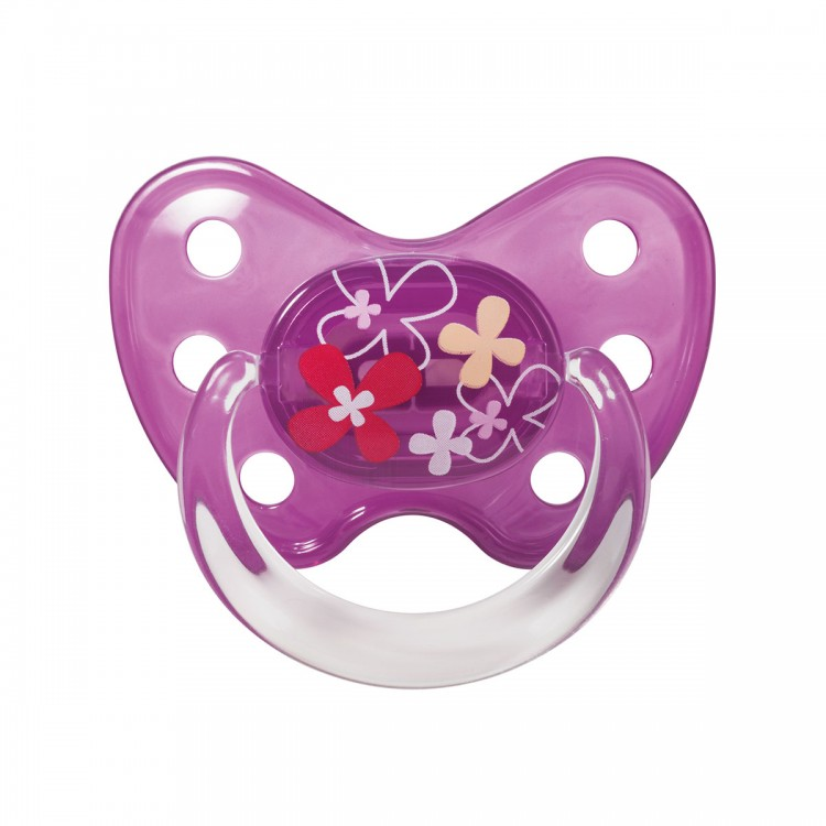 Dudlík Dentistar silikonový s kroužkem vel.3