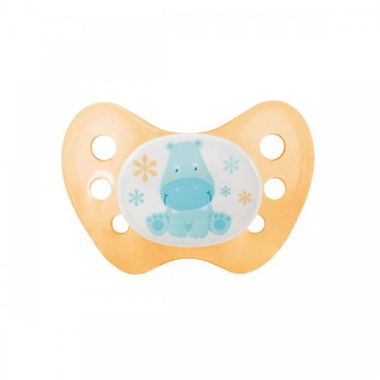 Dudlík Dentistar silikonový vel.2 bez kroužku